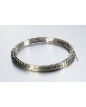 No.7 Hard Stainless Steel Half Round Wire - 30gm
