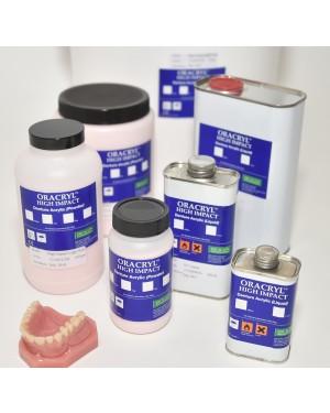 500ml Oracryl Hi Impact Cold Cure Liquid