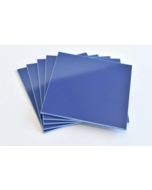 3mm Hard Blue Blanks - Square (Pk 5)