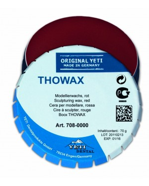 70gm Yeti Thowax - Lightly Opaque Red