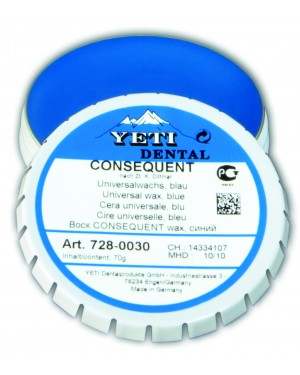 70gm Yeti Consequent Universal Wax - Blue