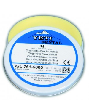 45gm Yeti IQ Diagnostic Wax - Dentine