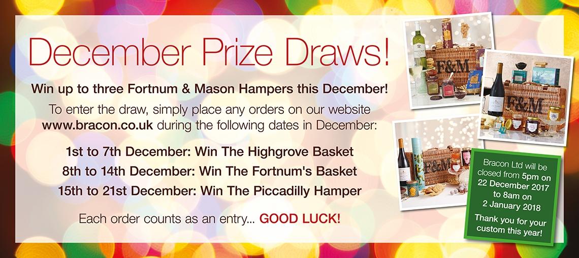 December Prize Draw