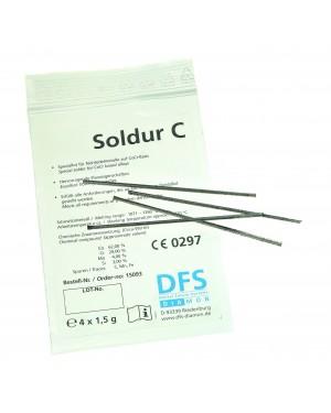 4x1.5gm 'Soldur C' - Non-Precious (CoCr) Solder