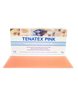 500gm Tenatex Modelling Wax - Pink