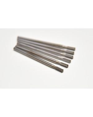010 Steel Fissure Burs - Pack of 6