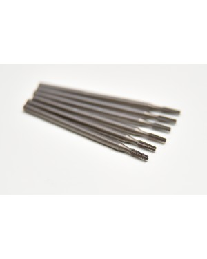 016 Steel Tapered Fissure Burs - Pack of 6