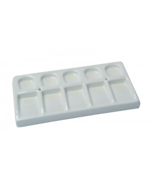 10 Hole Porcelain Ceramic Tray
