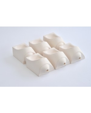 Dentalfarm RC100 Rotojet Crucibles - Pk 6