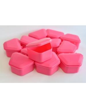 Pink Denture Boxes - Pk 12