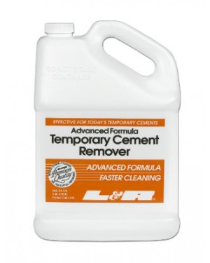 3.8ltr L&R Ultrasonic Solution - Temporary Cement Remover