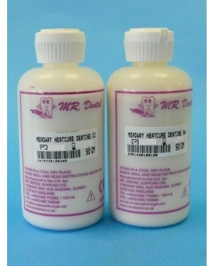 90gm Meadway Heat Cure Dentine - D4 ALSO AVAILABLE AS STANDARD STOCK ITEM