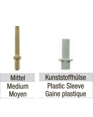 Pindex Style Pins and Sleeves - 16mm (Pk1000)