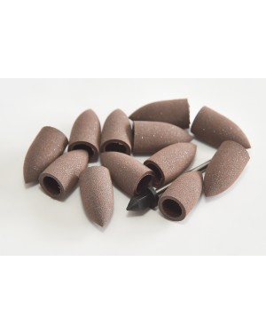 Identoflex 'Snap-On' LMF151 Brown Points - Coarse (Pk 12)