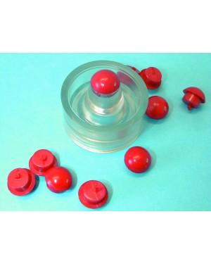 Boss Wax Button - Pk 100