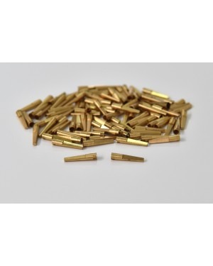 Hollow Brass Dowel Pins - Medium - Pack of 100