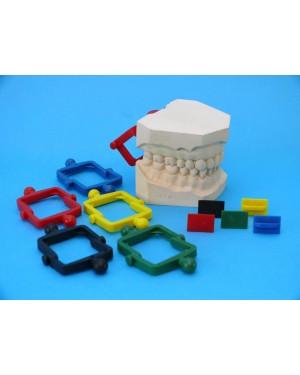 Rainbow Slot Articulators - Yellow - Pack of 100
