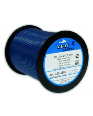 250gm Yeti Deton Round Wax Wire - 3mm