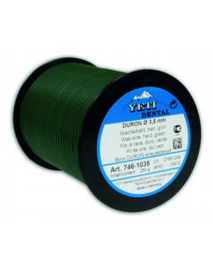 250gm Yeti Duron Round Wax Wire - 3.5mm