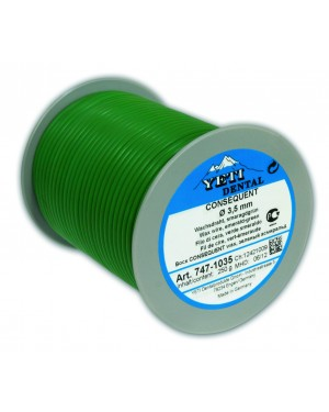 250gm Yeti Consequent Round Wax Wire - 3mm