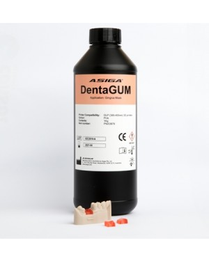 Asiga DentaGUM 3D printer resin 1kg