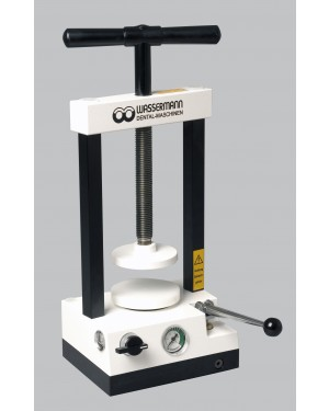 Wassermann Hydraulic Press WW-33 for 2-4 Flasks