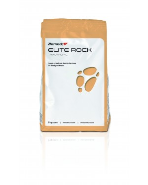 3kg Zhermack Elite Rock Diestone - Cream
