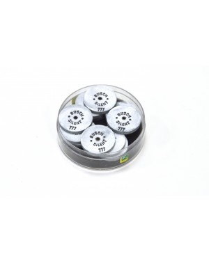 No.777 Busch Silent Wheels - Pk 12