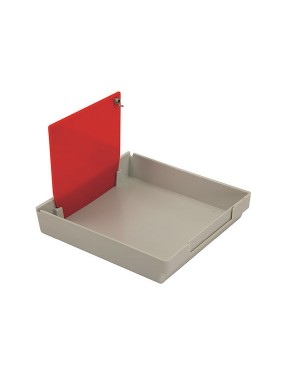 Large Mestra Model Work Trays - Green - Pack of 10