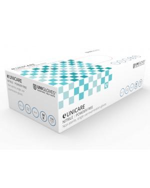 Nitrile Powder Free Disposable Gloves - Blue - Size Medium - Box of 100