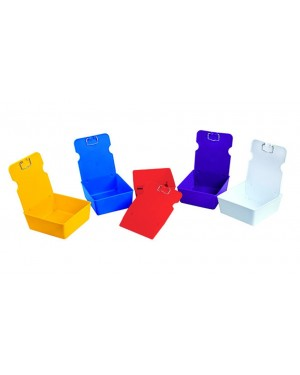 Mestra ECONOMY Model Work Trays - Yellow - Pack of 10