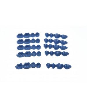 DFS QUATTRO Pontics  UR C (S) WAX PONTICS 17/14 10x4