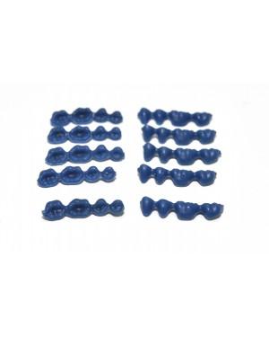 DFS QUATTRO Pontics  LL A (L) WAX PONTICS 34/37 10x4