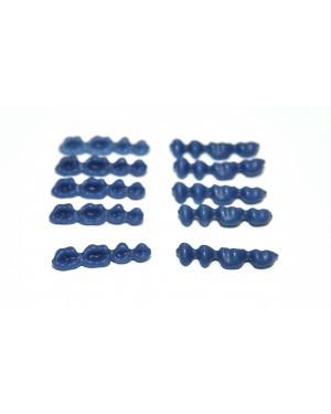 DFS QUATTRO Pontics  LR C (S) WAX PONTICS 47/44 10x4