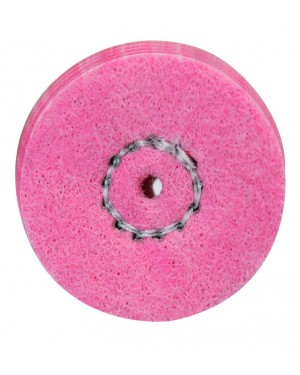 SW-R22f Soft Polishing Wheels - Pink (Each)