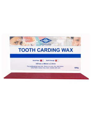500gm Tooth Carding Wax - Rec (Hard)