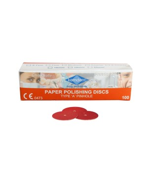 Pin Hole Sandpaper Discs - Medium (Pk 100)