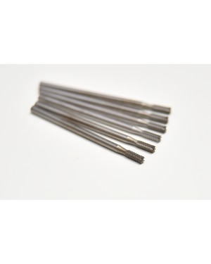 010 Steel Fissure Burs - Pack of 6