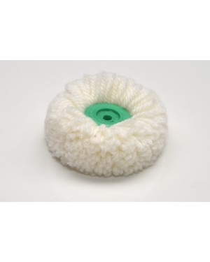 Wool Polishing Mop with Plastic Hub