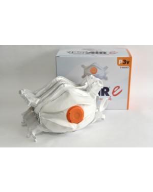 Respair P3V Carbon Filter Face Masks - Pk 10