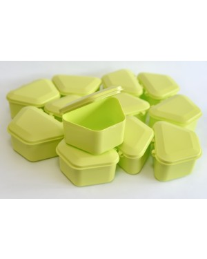 Lime Denture Boxes - Pk 12