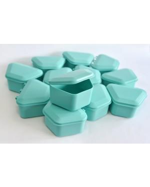 Aqua Denture Boxes - Pk 12