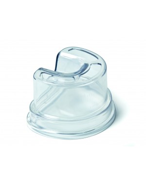 Clear Plastic Silicone Duplicating Flask - Small