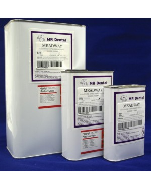 5 x 1ltr Meadway Orthoresin Liquid - Clear