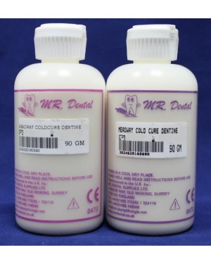 90gm Meadway Cold Cure Dentine - D2