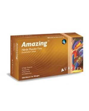 Aurelia Amazing Nitrile Gloves - Size Medium - Pack of 300