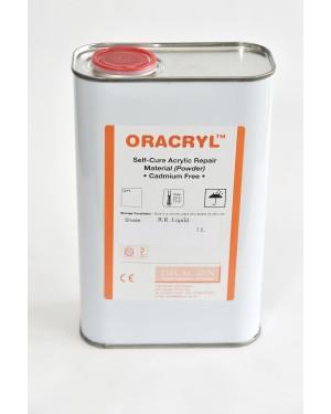 1ltr Oracryl Cold Cure Acrylic Liquid