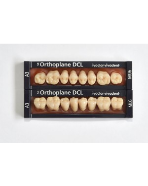 1 x 8 SR Orthoplane DCL - Lower Posterior - Mould ML3, Shade B2