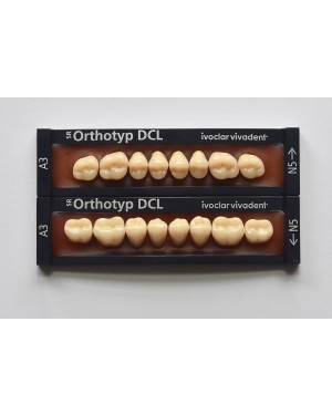 1 x 8 SR Orthotyp DCL - Lower Posterior - Mould N3, Shade A2