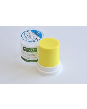 45gm Yeti IQ Compact Opaque Sculpturing Wax - Neon Yellow